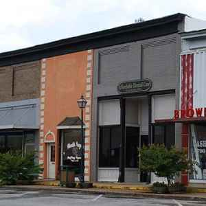 Downtown Hohenwald, Tennessee