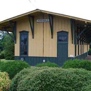 Hohenwald Train Depot - Hohenwald, Tennessee