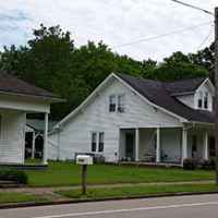 Early 20th Century Homes line US 412 thru town