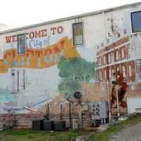 Mural of Clifton's Riverboat Era