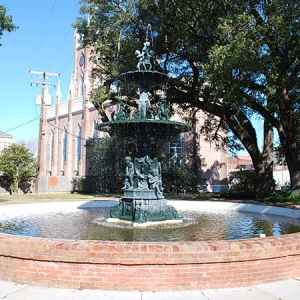 Fountains - Natchez, Mississippi