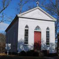 St. Mark's Episcopal Church was used as a hospital by Union soldiers during The Battle of Raymond.