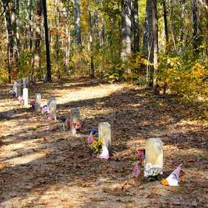 Confederate Gravesites and Old Trace - Natchez Trace Parkway
