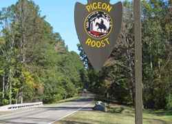 Pigeon Roost - Natchez Trace Parkway
