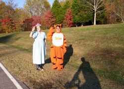 Halloween on the Natchez Trace Parkway