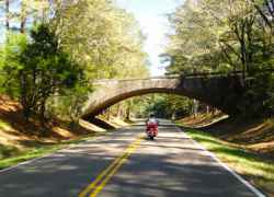 The Highway 27 bridge over the Natchez Trace.