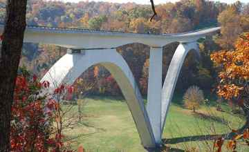 Double Arch Bridge - Natchez Trace Parkway