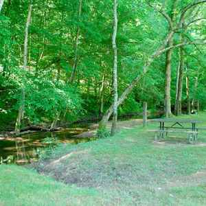 Burns Branch Picnic Area - Natchez Trace Parkway