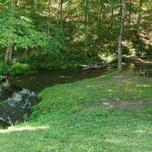 English Camp Creek Picnic Area - Natchez Trace Parkway