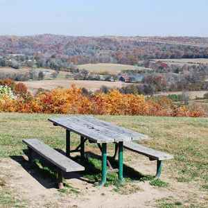 Water Valley Overlook Picnic Area - Natchez Trace Parkway