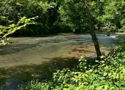 Metal Ford and Buffalo River - Natchez Trace Parkway