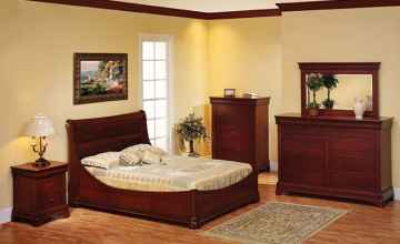 Louis Phillipe Bedroom - O'Reilly's Amish Furniture